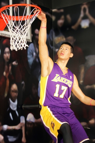 Waxsanity Jeremy Lin Gets Statue At Madame Tussauds News Palo Alto Online