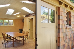 Garage To Office Conversion Leaves Room For Future Granny Dwelling