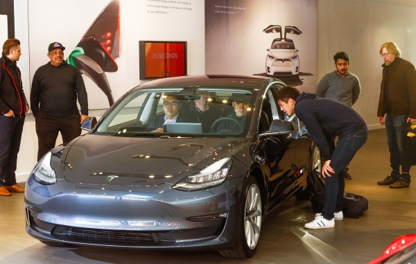 Excited Customers Eager To Drive, Content To Wait