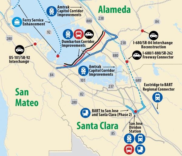 Peninsula leaders split over transportation measure | News | Palo ...