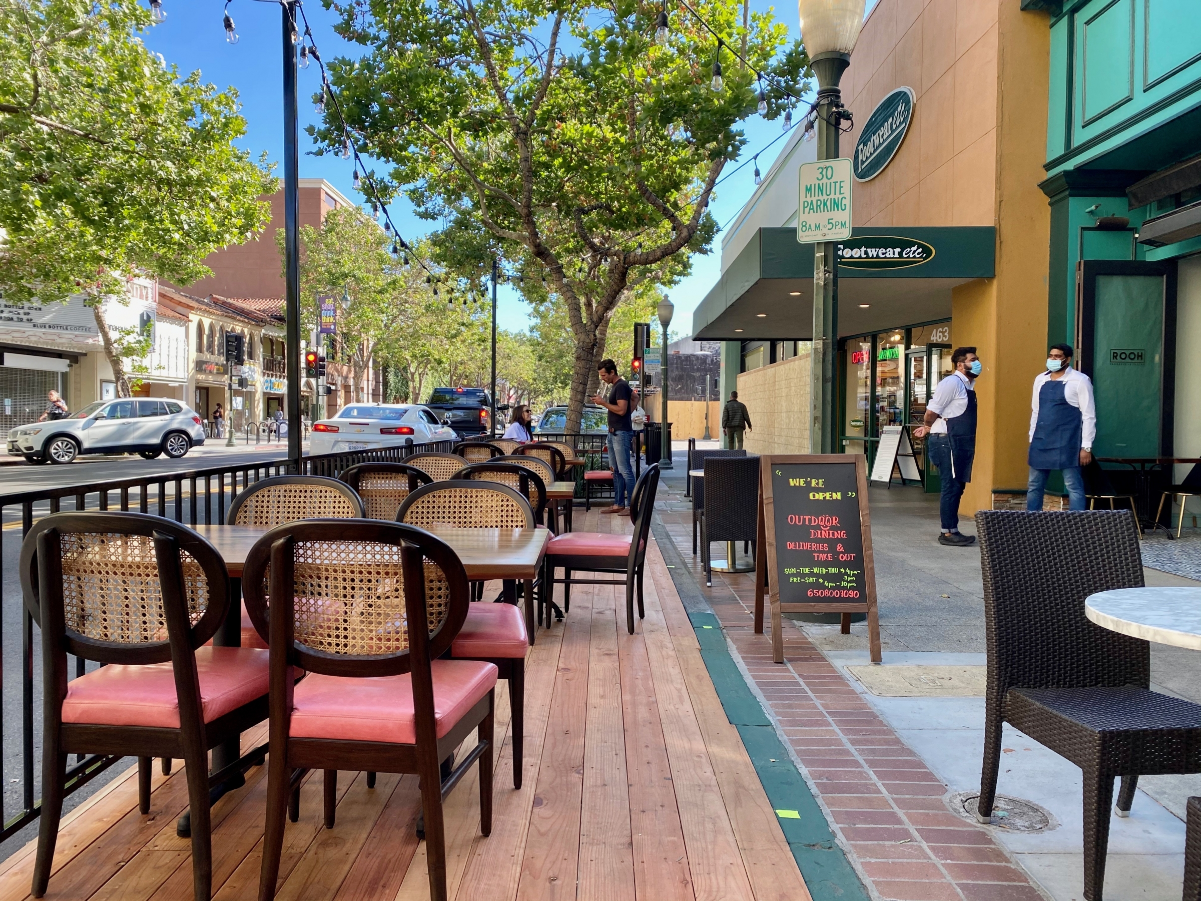 Restaurants Reopen For Outdoor Dining